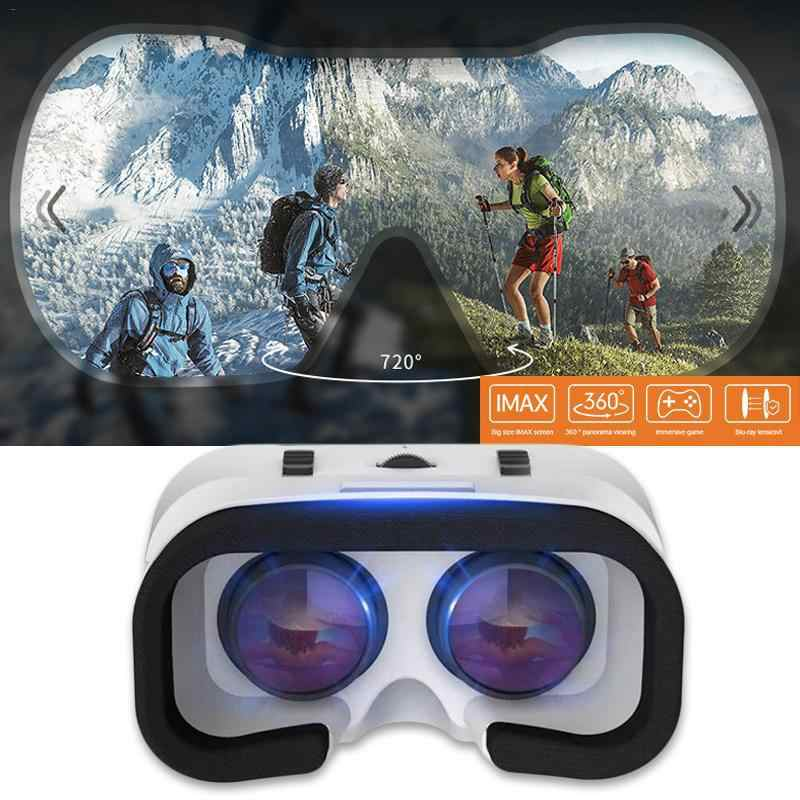Caja de gafas 3D VR SHINECON G05A 3D VR gafas auriculares VR realidad Virtual para teléfonos inteligentes Android iOS r60 de 4,7-6,0 pulgadas