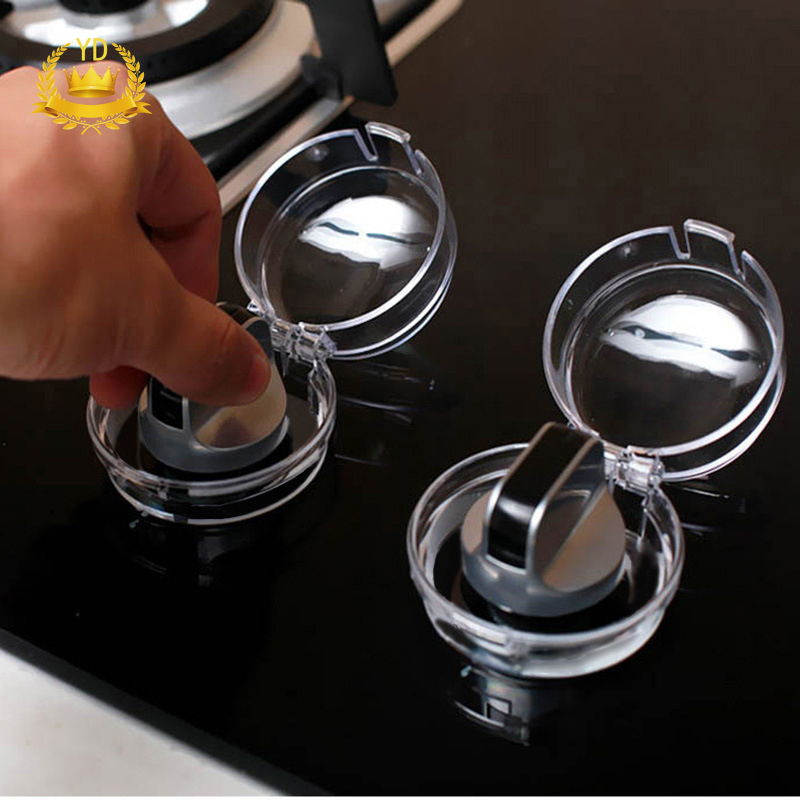 Gas Stove Oven Knob Cover Baby Gas Knob Protector Cover Kitchen Safety Protection Accessories Superior (In) Quality