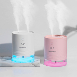 Usb Air Humidifier Diffuser 650ML Rechargeable Wireless Electric Ultrasonic Humidifier Humidificador Mist Maker LED Night Light