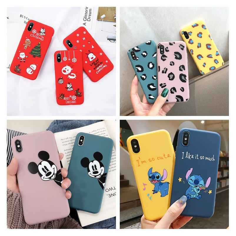 For Samsung Galaxy A50 Case Silicon Christmas Back Cover Phone Case For Samsung A30 A20 A10 A50S A30S A505 A505F Soft Case 6.4(China)