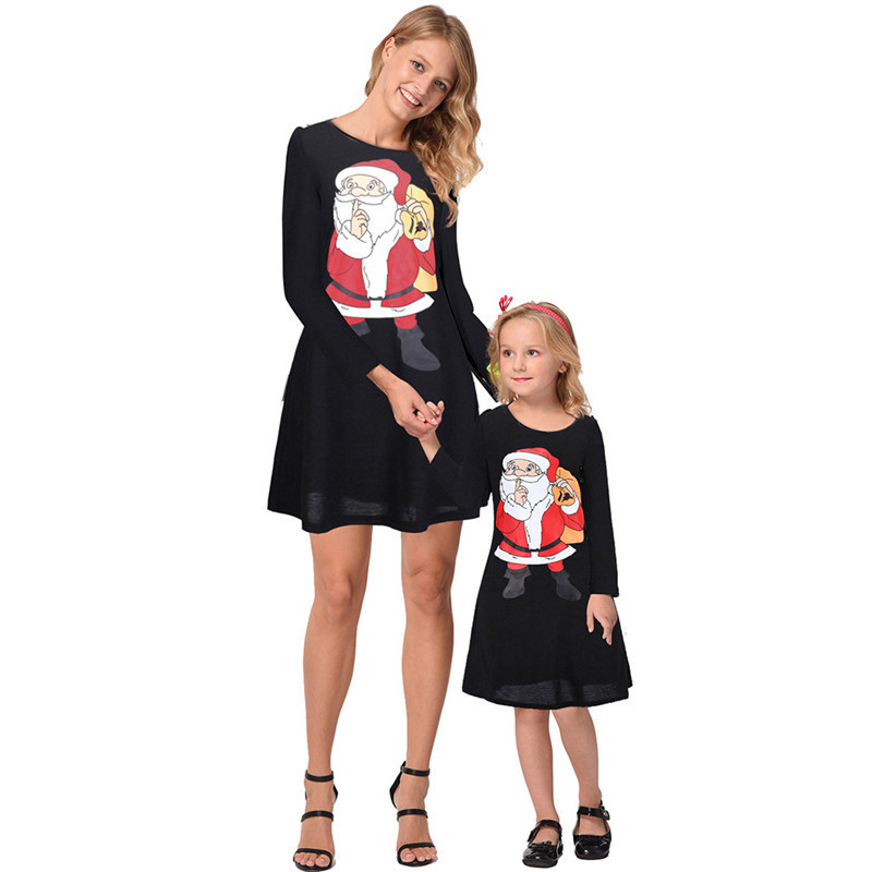 Mommy-and-me-family-matching-mother-daughter-dresses-clothes-Christmas-mom-dress-kids-child-outfits-mum (1)