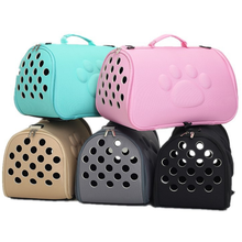 Cat Carrier Bags Breathable Pet Carriers Small Dog Cat Backpack Travel Space Transport Bag Foldable Carrying For Cats PT015
