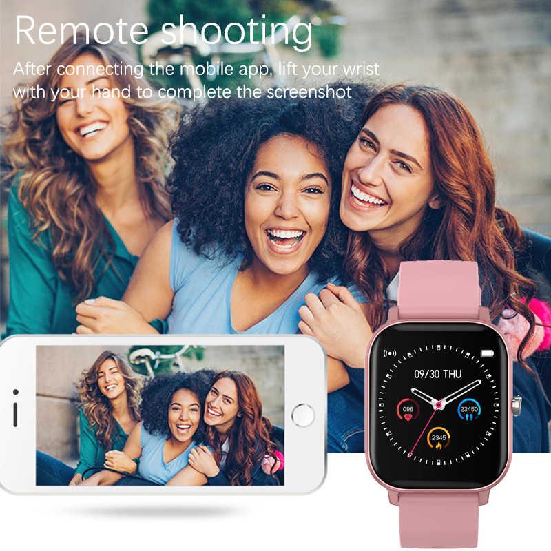 Reloj inteligente LIGE 2020 para mujer, rastreador deportivo IPX7, pantalla LED táctil completa impermeable, adecuado para hombres Android ios