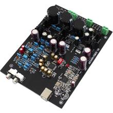 XMOS U8 + AK4495SEQ 4700UF/35V LT1963-3.3 USB Decoder Board Support 32BIT 768K YJ0097