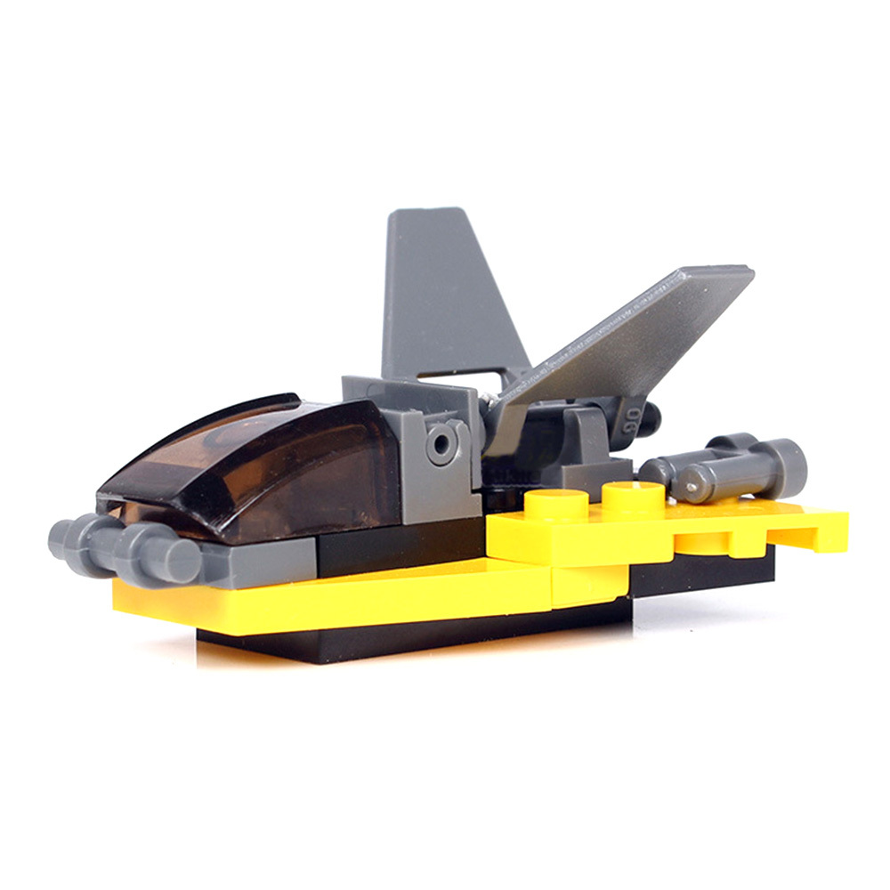 Baby Car DIY Assembling Building Blocks Police Engineer Forklift Navvy Drilling Roller Blocks Puzzle Children Christmas Gift Toy