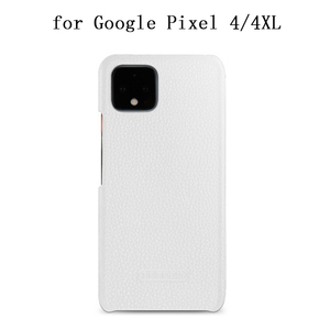 Image 1 - Capa protetora para smartphones, case protetor, couro genuíno, para google pixel 4, google pixel, 4xl escudo de proteção