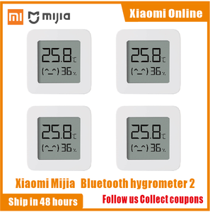 Image 1 - 2020New Version Xiaomi Mijia Bluetooth Thermometer 2 Wireless Smart Electric Digital Hygrometer Thermometer Humidity Sensor Home