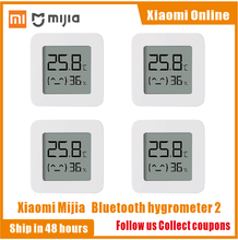 2020nuova versione Xiaomi Mijia termometro Bluetooth 2 Wireless Smart Electric igrometro digitale termometro sensore di umidità casa