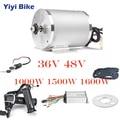 36 В 48 В комплект для переоборудования электрического велосипеда 1000 Вт DC бесщеточный мотор 12mosfet bldc контроллер с ЖК-дисплеем Твист дроссельно...