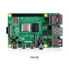 Originale Raspberry Pi4 Modello B Kit 4GB di RAM + custodia di trasporto con il ventilatore + EU/US/UK Tipo C 5 V/3A caricatore di Potere + cavo HDMI + 32G carta di TF + dissipatore di calore - 5