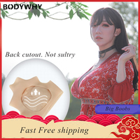 Realistic Silicone Breast Forms Crossdress Suit Fake Boobs Mastectomy Crossdresser Shemale Artificial cosplay Latex Shapewear