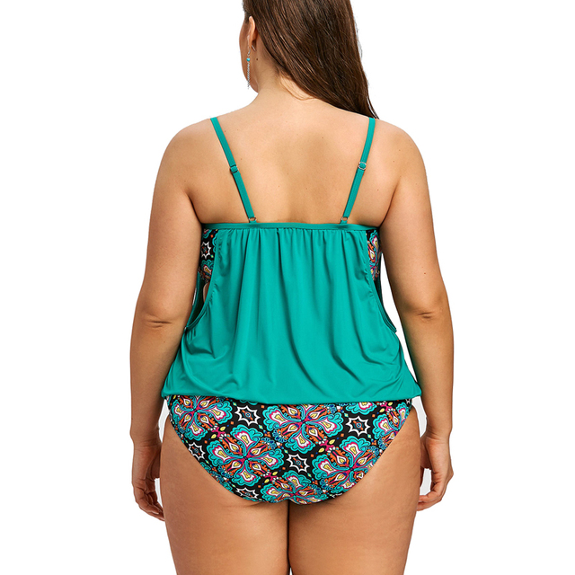 Plus Size Swimwear Women Indoor Swimsuit 2020 May Beach Sexy Tankini Dress Bathing Suit Push Up Swimming Suits Bikini New Bather 2