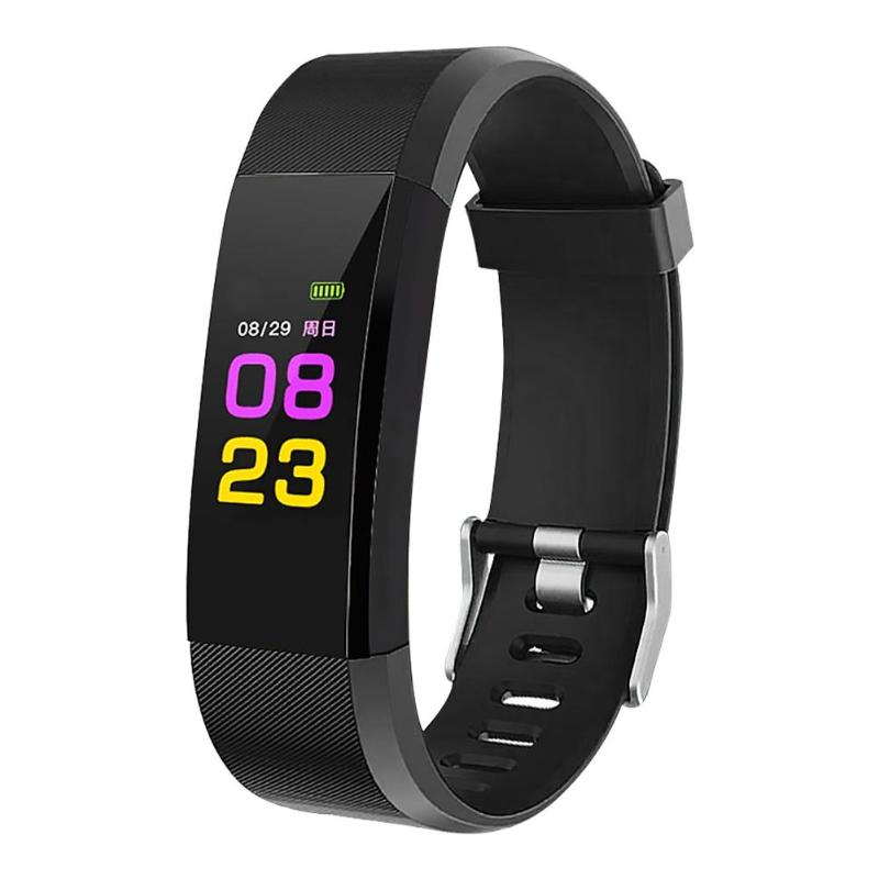 115PLUS waterproof reminder monitoring heart rate blood pressure Pedometer Bluetooth smart sports bracelet all compatible