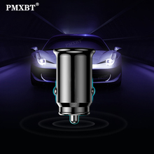 3.1A Mini Car Charger Dual USB Quick Charge For iPhone Xiaomi Samsung S9 Huawei P30 Tablet Mobile Phone Car Fast Charger Adapter dual usb quick charge qc3 0 car charger for iphone xiaomi pocophone f1 huawei samsung mobile phone fast charging adapter in cell