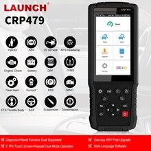 LAUNCH X431 CRP479 OBD2 сканер автоматический диагностический сканер автомобильный диагностический инструмент Автоматическое сканирование ABS TPMS DPF IMMO сброс PK CRP429C
