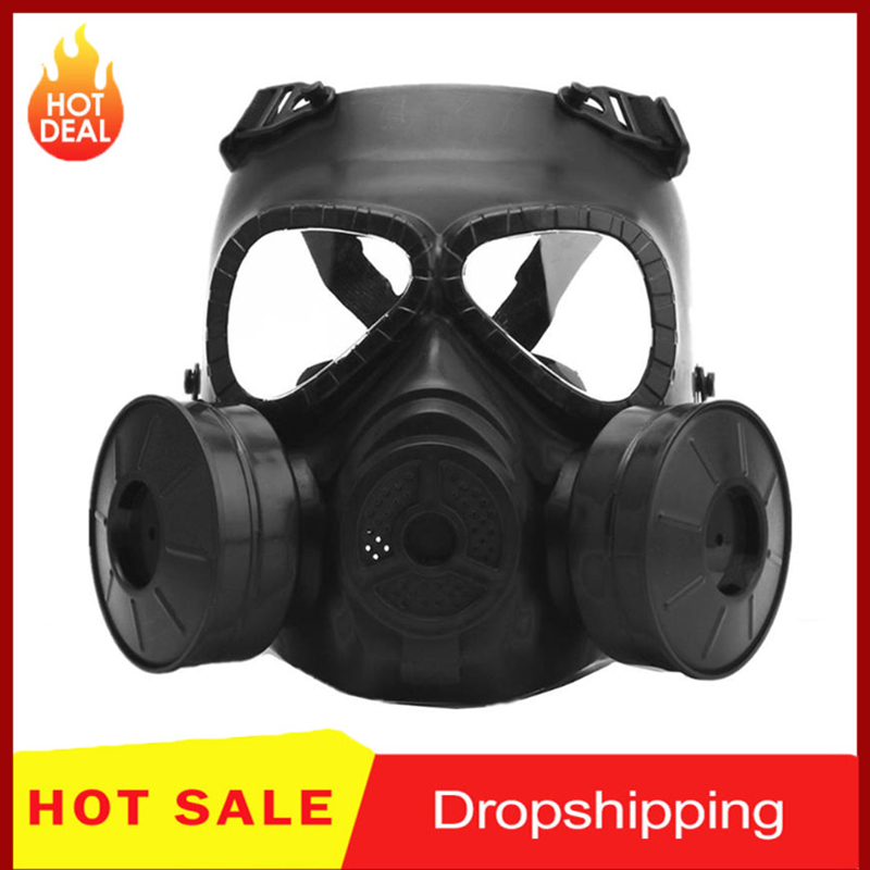 M04 Cs Field Outdoor Games Faceguard Impact resistant Adjustable Protective Gas Masks for Various Games Eyes Protection Masks