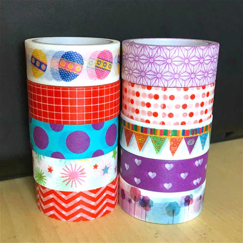 1 Pcs Manis Seri Mimpi Lucu Washi Tape Set Masking Tape Jurnal Perlengkapan Scrapbooking Kertas Alat Tulis Kantor Pita Perekat