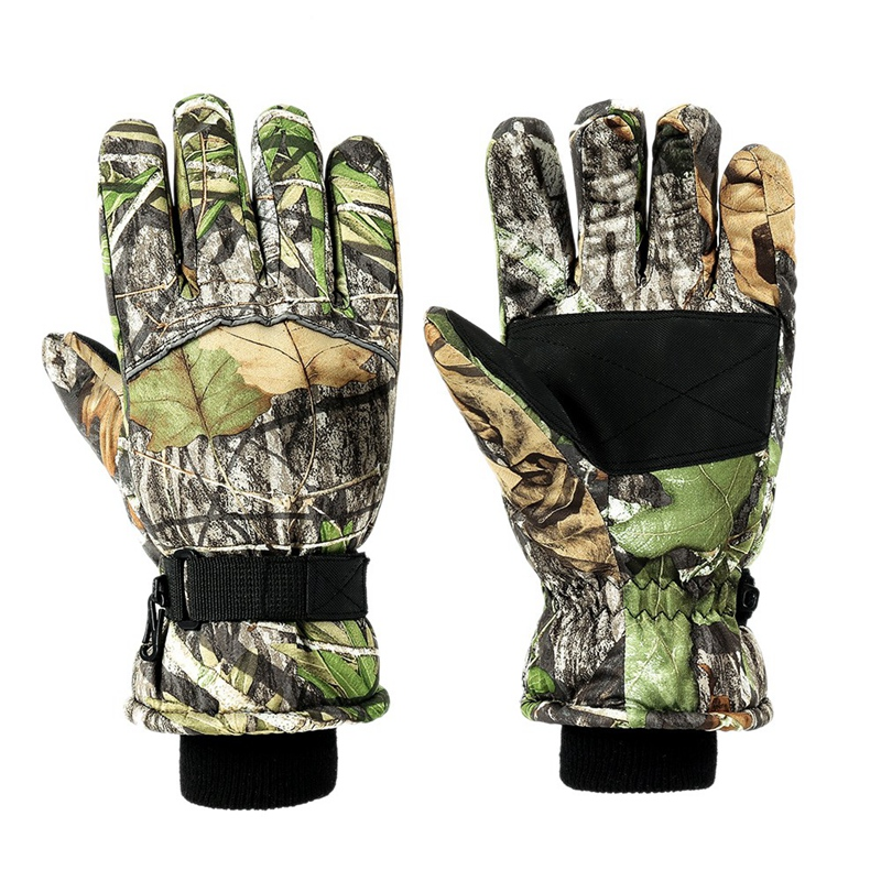 Outdoor Hunting Gloves Men and Women Winter Camouflage Gloves for Skiing Camping Hunting Hiking