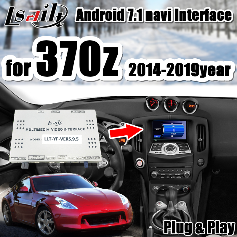 Navigation-Box Video-Interface-Support Android 370z Nissan Car Gps Auto-Play No for Control