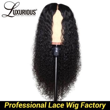 Kręcone ludzkie włosy peruki naturalny kolor bielić kępki brazylijski Remy włosy 13 #215 6 ludzki włos koronki przodu peruki z dzieci tanie i dobre opinie LUXURIOUS Długi Lace Front wigs Pół maszyny wykonane i pół ręcznie wiązanej Swiss koronki 1 sztuka tylko Średni brąz