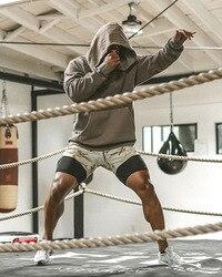 Masculino sporting beaching shorts calças de algodão musculação moletom fitness curto jogger hawaii secagem rápida praia shorts homem