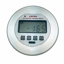 New generation Differential and LCD digital pressure gauge LFM3 for clean room,fan and blower, filter resistance