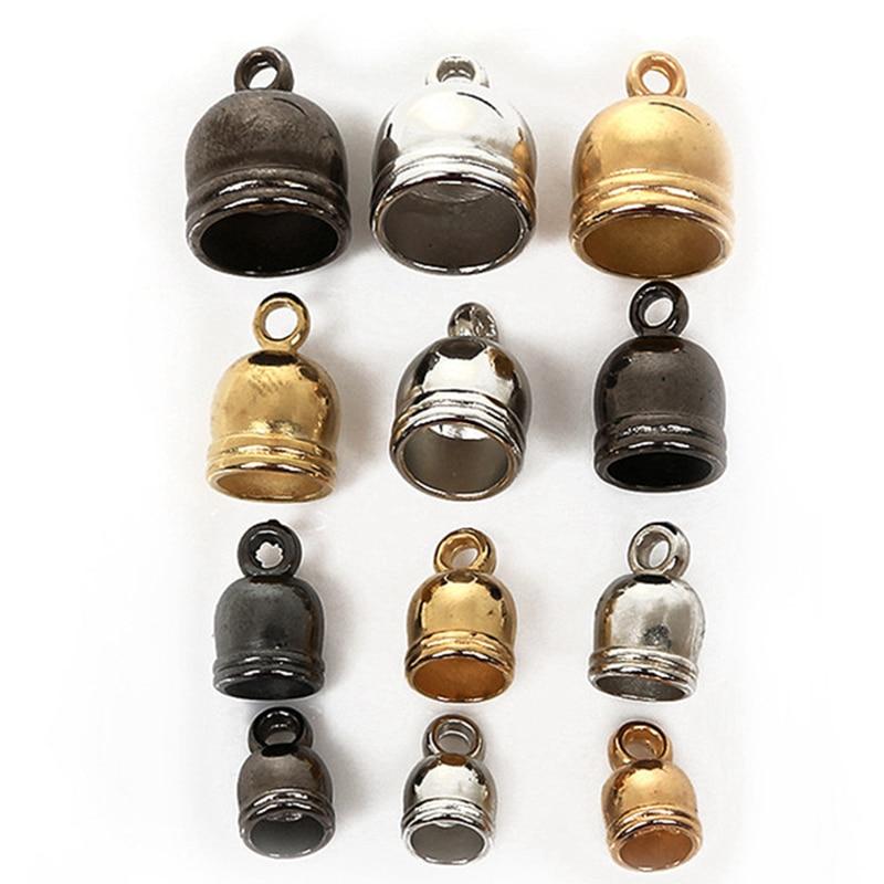 Brass Bell-Shape End Caps Golden 5mm  30 Pcs Findings Jewellery Making Crafts