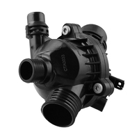 11537549476 البلاستيك العملي للسيارة سهل التركيب مقاومة التآكل الحرارة السوداء استبدال المهنية ل E90 330 E60 530-في مضخات المياه من السيارات والدراجات النارية على