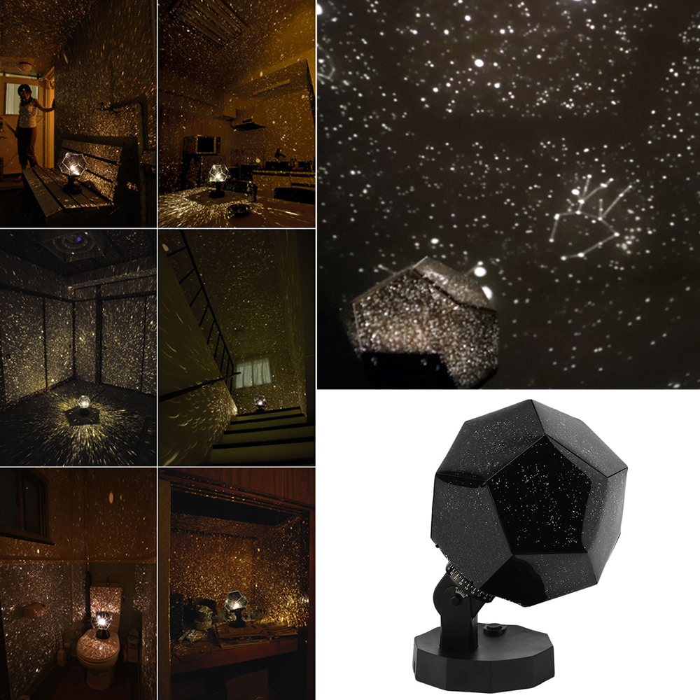 Creative LED Projection Lamp Night Light Starry Sky Projection Cosmos Led NightLights Lamp Kid's Gift Home Decoration