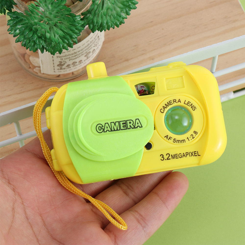Kid Children Projection Digital Mini Camera Educational Study Toy Simulation Play Toys Birthday Gift Send By Random Color