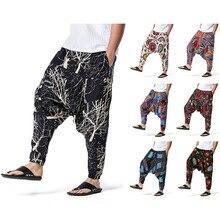 Sportswear Pants Cool-Print Hip-Hop Winter Women/men Fall Flowers Geometry Colorful New