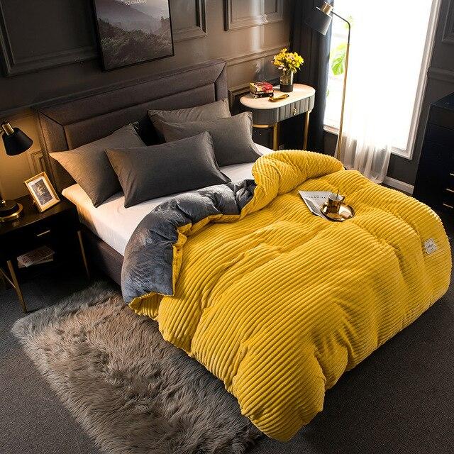 Textured Plush Comforter 1