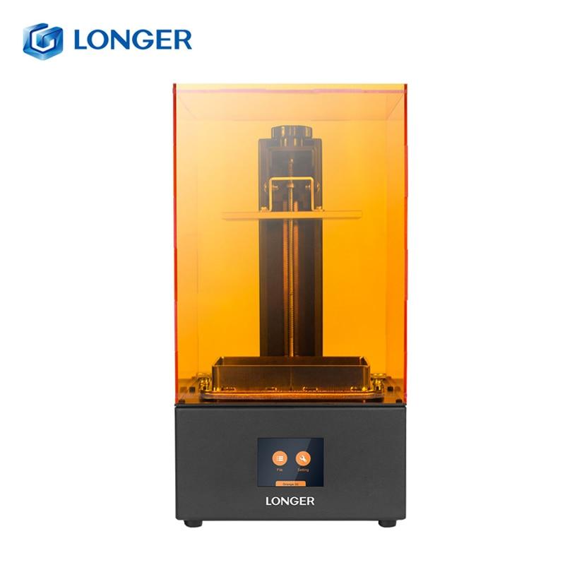 Más Largo naranja 30 SLA LCD 3D impresora 2K matriz UV 405nm resina rápida rebanada impresora joyería Dental profesional impresora 3d Drucker