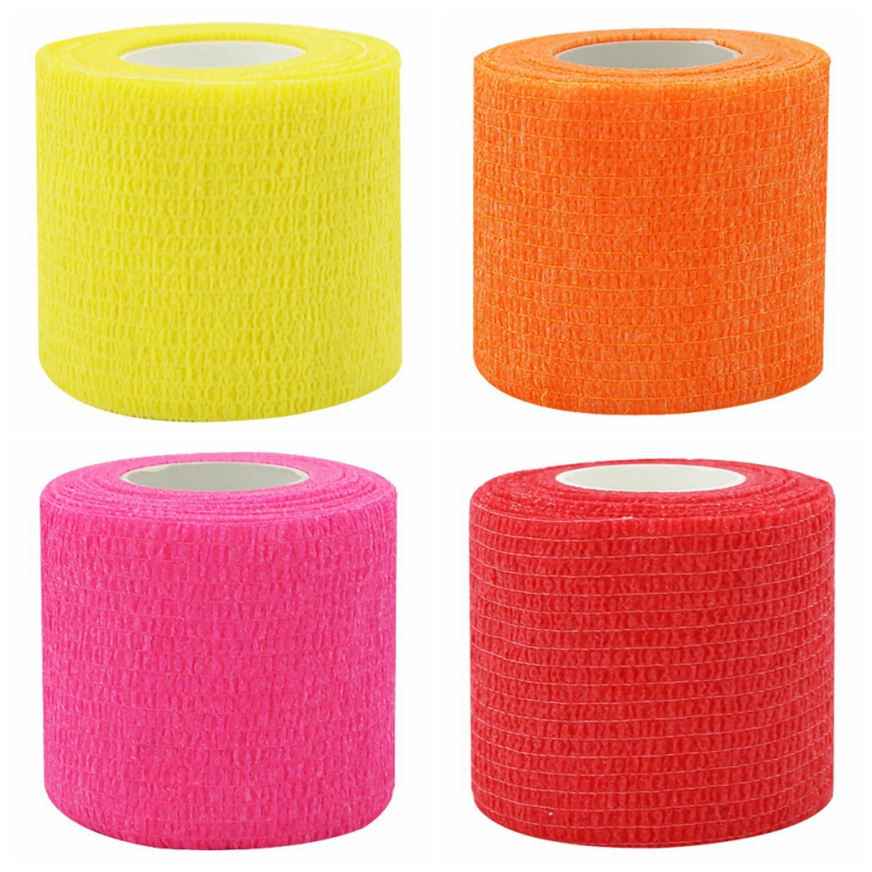 Sport Therapy Self Adhesive Elastic Bandage Wrap Tape 4.5m Elastoplast For Knee Support Pads Finger Ankle Palm Shoulder