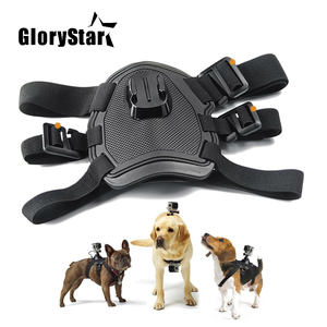 Image 2 - Fetch Dog Mount Harness Chest Strap Mount for Gopro Hero 87 6 5 4 session 3 OSMO SJCAM Xiaomi Yi 4K GO H9 PRO Camera Accessories