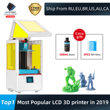 ANYCUBIC Photon-S 3D Printer Dual Z axis Quick Slice 405nm Matrix UV Module SLA 3d Printer Resin PhotonS Upgraded Impresora 3d