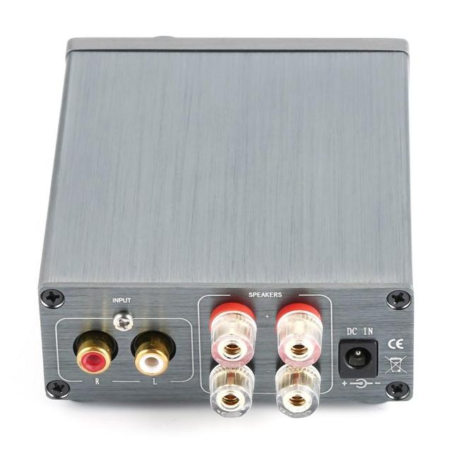 Breeze Amp HIFI Class 2.0 Stereo Audio Digital Amplifier  6