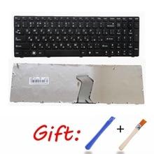 Ру черный новая клавиатура для ноутбука LENOVO IdeaPad G560 G560A G565 G560L G570 Z560 Z560A Z560G Z565 G575 G780 G770 русский