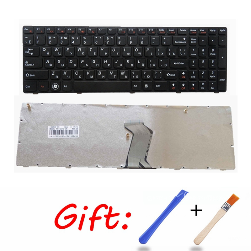 RU Black New Laptop Keyboard FOR LENOVO IdeaPad G560 G560A G565 G560L G570 Z560 Z560A Z560G Z565 G575  G780 G770 Russian