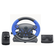 Car Racing Game Steering Wheel Gamepad 180 Degree For PS2/For PS3/PS4/for PC Dual-Motor Feedback Force Simulation Driving Car