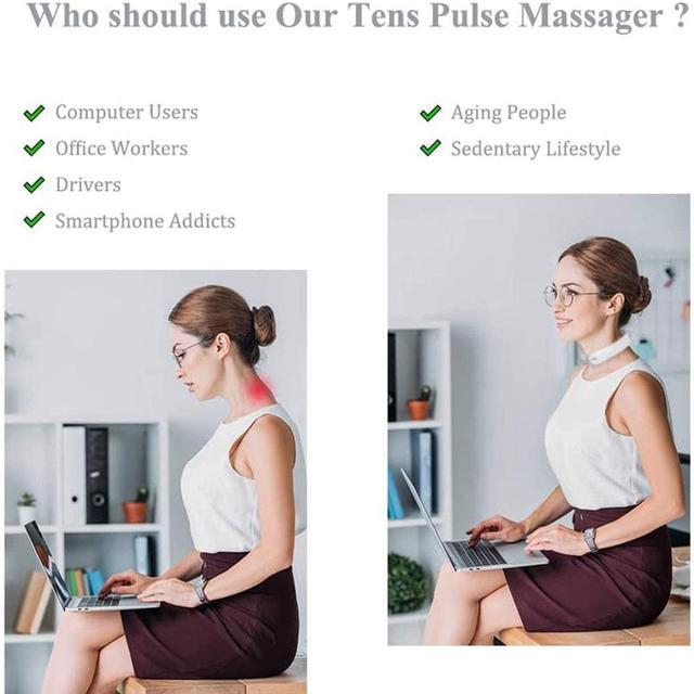 Купить массажер для шеи и плеч с инфракрасным подогревом 6 режимов картинки цена