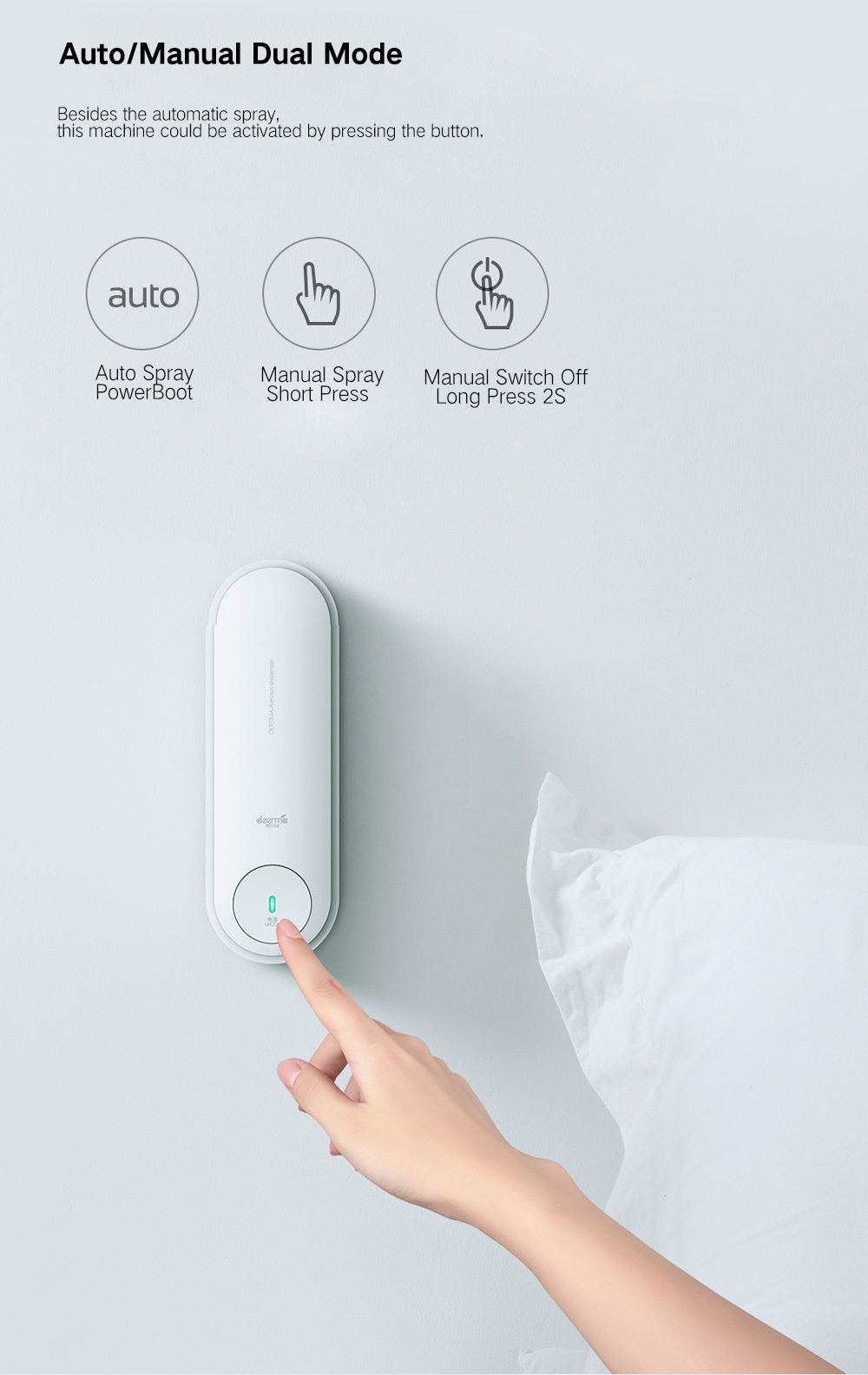 Xiaomi Deerma DEM-PX830 Aerosol Dispenser 8