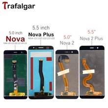 Dla Huawei Nova 2 Plus wyświetlacz LCD ekran dotykowy Digitizer zgromadzenie dla Huawei Nova 2 LCD Nova2 PIC LX9 L09 L29 ekran wymienić