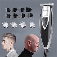 110 240V trymer do włosów profesjonalna przewodowa maszynka do włosów do salonu fryzjerskiego trymer do brody golarka ścinanie włosów maszyna