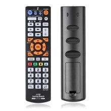 Novo l336 cópia inteligente controlador de controle remoto com função aprender para tv cbl dvd sat aprendizagem