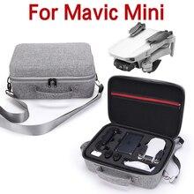สำหรับ DJI Mavic MINI กระเป๋ากันน้ำกรณี Drone กันกระแทกตัวป้องกันกล่องรีโมทคอนโทรลเก็บไหล่จับ