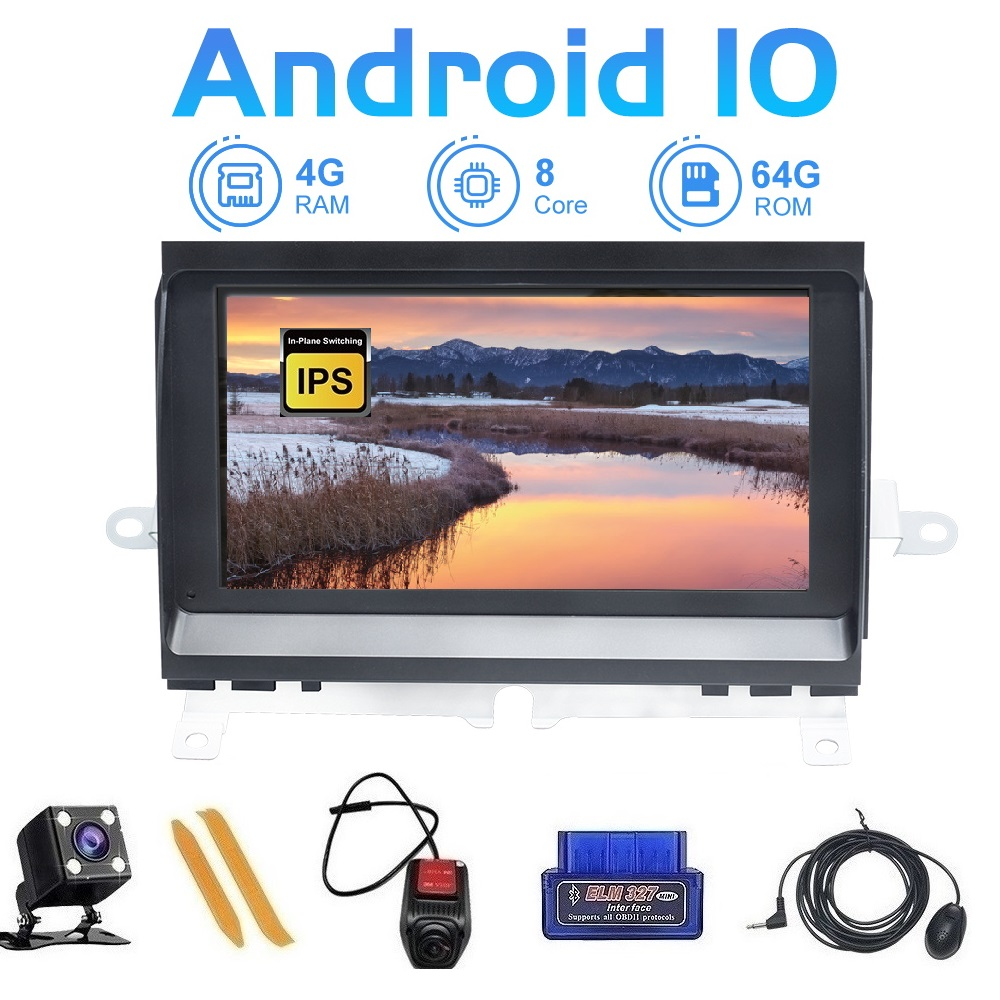 ZLTOOPAI Android 10 Car Multimedia Player For Land Rover Discovery 3 LR3 L319 2004-2009 Media Player GPS IPS DSP Touch Screen