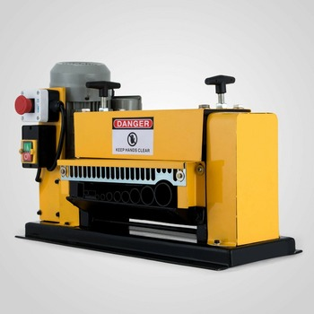 Electric Powered Wire Stripping Machine Automatic Cable Stripper Metal Recycle cable peeling machine electric wire stripping machine metal tool scrap cable stripper