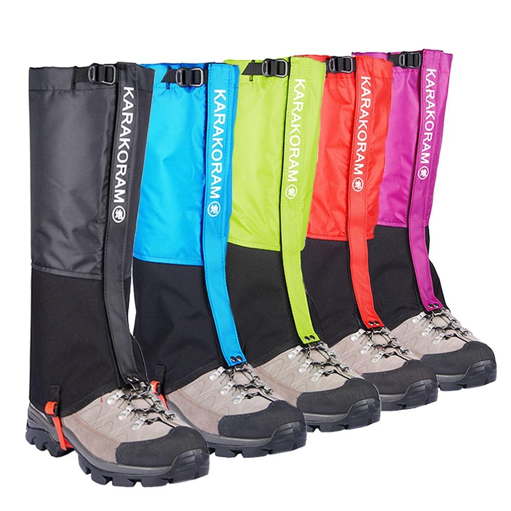 Waterproof Snow Leg Gaiters Hiking Boot Legging Shoes Warmer Snake Shoe Cover Tourist Outdoor Camping Trekking Climbing Hunting