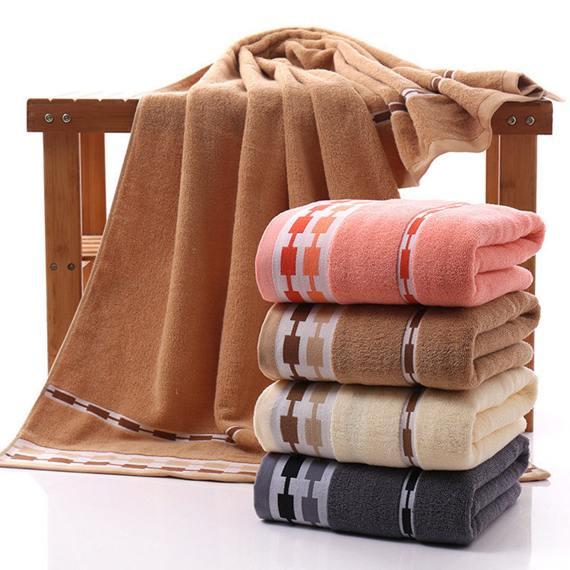 Towel Bath Towel Adult Thick Men WOMEN'S Suit Water-Absorbing Children Couples Cotton Big Bath Towel Towel
